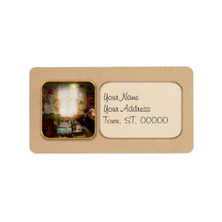 Office - Ole Tobias Olsen 1900 Address Label