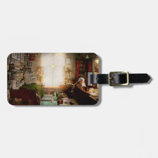 Office - Ole Tobias Olsen 1900 Luggage Tag