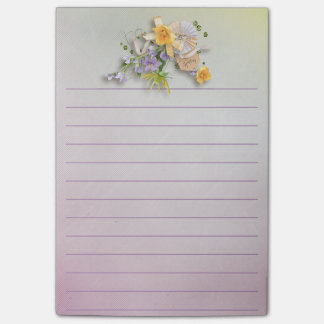 Office - Pretty Spring Florals Post-it Notes