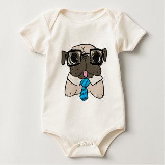 Office Pug Baby Creeper