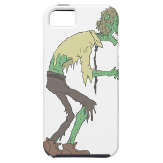 Office Worker Creepy Zombie With Rotting Flesh Out Case For The iPhone 5
