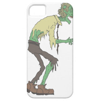 Office Worker Creepy Zombie With Rotting Flesh Out iPhone 5 Case