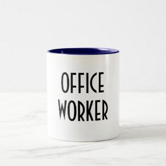 OFFICE WORKER Two-Tone MUG