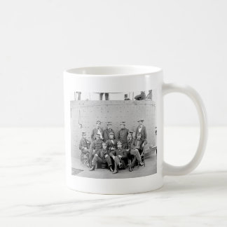 Officers on USS Monitor, 1862 Mug