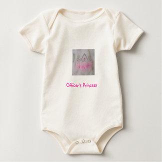 Officer's Princess Baby Bodysuit
