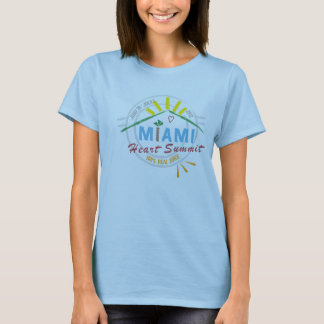 Official 2012 Miami Heart Summit T-shirt - Women