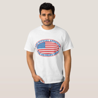 OFFICIAL AMERICAN BEER DRINKING SHIRT
