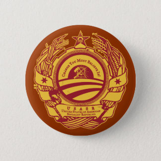 Official American Soviet Republics Button