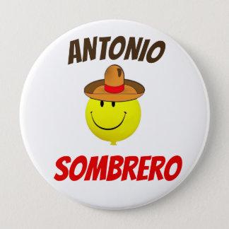 Official Antonio Sombrero fan button