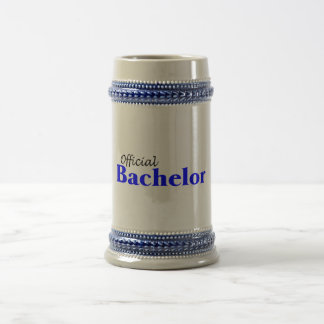 Official Bachelor Beer Stein
