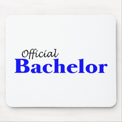 Official Bachelor Mouse Pad