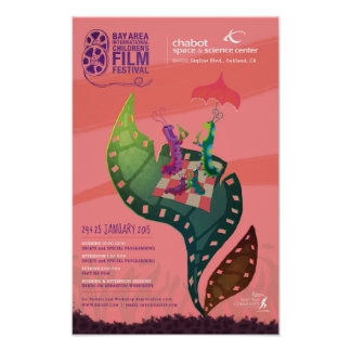 Official BAICFF 2015 Poster by Ralph Eggleston