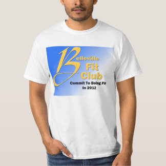 Official Belleville Fit Club Tshit T-Shirt