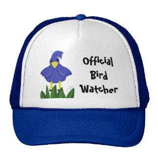 Official Bird Watcher - Blue Bird Cap