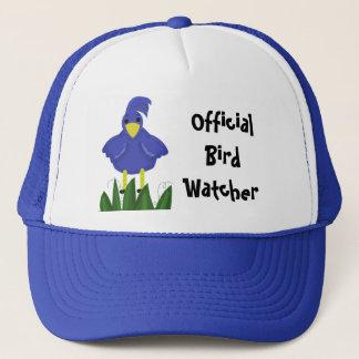 Official Bird Watcher - Blue Bird Trucker Hat