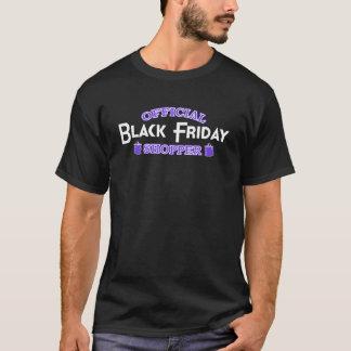 Official Black Friday Shopper (Purple) T-Shirt
