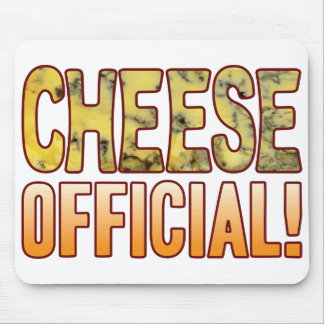 Official Blue Cheese Mouse Pad