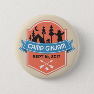 Official Camp GinJam Swag Button