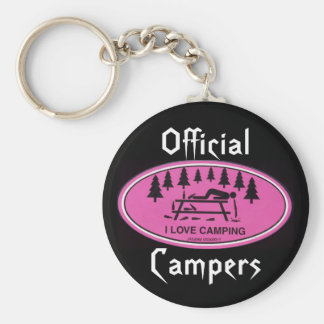 Official, Campers Key Ring