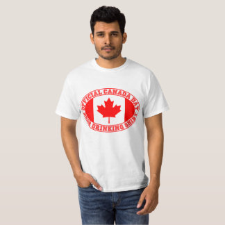 OFFICIAL CANADA DAY BEER DRINKING SHIRT 150