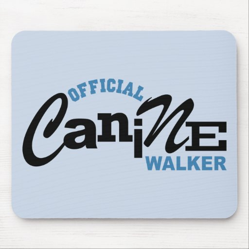 Official Canine DOG Walker Mouse Pad