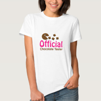 Official Chocolate Taster Tee Shirts