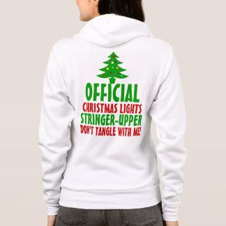 Official Christmas Lights Stringer Upper Hoodie