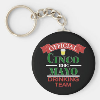 Official Cinco De Mayo Drinking Team Keychain