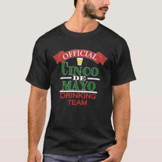 Official Cinco De Mayo Drinking Team Men's Shirt