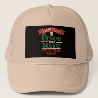 Official Cinco De Mayo Drinking Team Trucker Hat