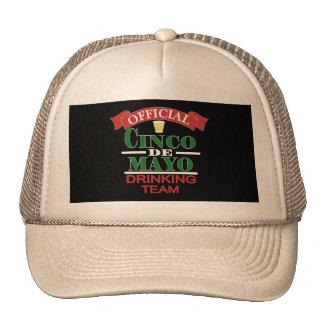 Official Cinco De Mayo Drinking Team Trucker Hat