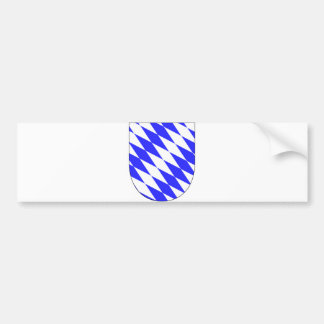 Official Coat of Arms Bavaria Germany Symbol Bumper Sticker