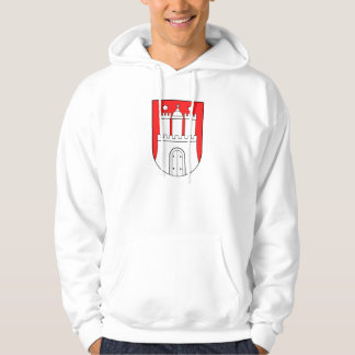 Official Coat of Arms Hamburg Germany Symbol Hoodie