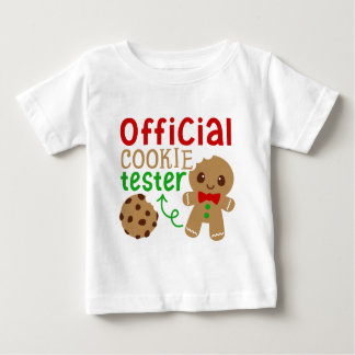 Official cookie tester baby unisex t-shirt