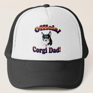 Official Corgi Dad - Mist Trucker Hat