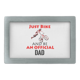 official dad rectangular belt buckle