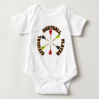 Official Dartball Player Baby Bodysuit