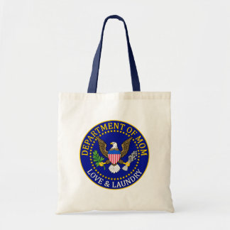 Official Department of Mom Seal Tote Bag