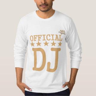 official dj tee shirts