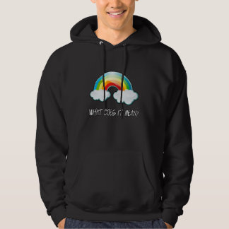OFFICIAL Double Rainbow What Does it Mean? Hoodie