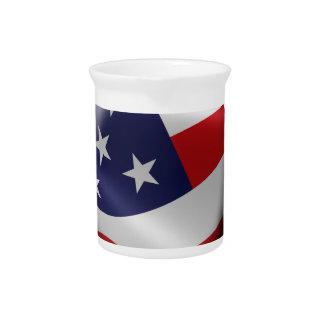 Official DumpTrumpforAmerica Logo Pitcher
