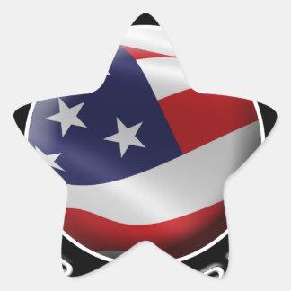 Official DumpTrumpforAmerica Logo Star Sticker