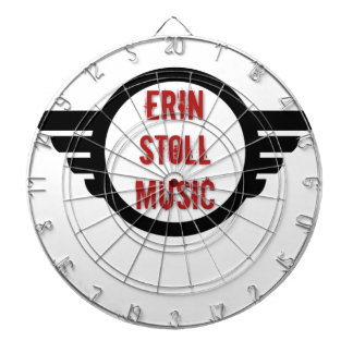 Official Erin Stoll Music Wings Gear Dartboard
