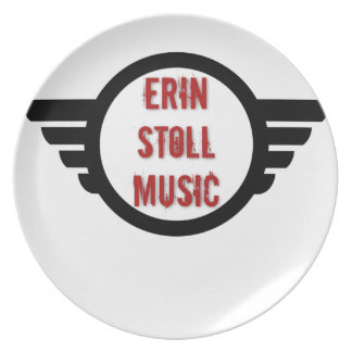 Official Erin Stoll Music Wings Gear Dinner Plate