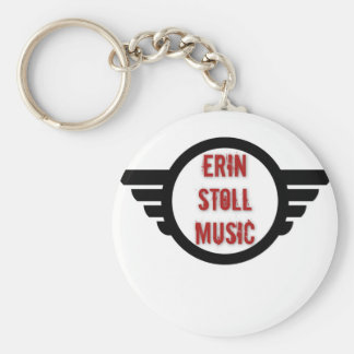 Official Erin Stoll Music Wings Gear Key Ring