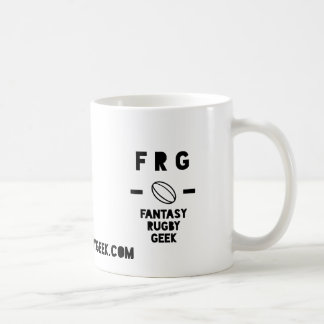 Official Fantasy Rugby Geek Coffee Mug