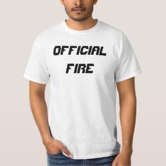 Official Fire Men's T-shirt