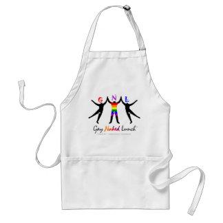 Official GayNakedLunch (GNL) Apron