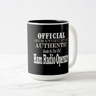Official Genuine Made USA Ham Radio Operator Mug