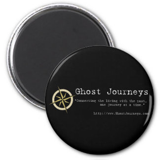 Official Ghost Journeys 6 Cm Round Magnet